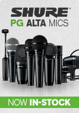 Shure PGA Alta Microphones Now In Stock