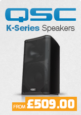 QSC K Series Speakers