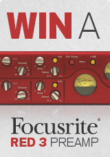 Win a Focusrite Red 3