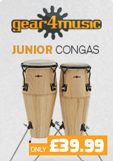 Junior Tunable Conga Set by Gear4music