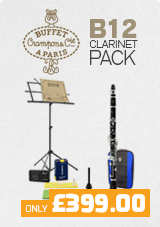 Buffet B12 Clarinet Pack