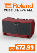 Roland Cube Lite Amp Red