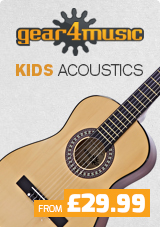 Kids Acoustic Guitars by Gear4music