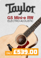 Taylor GS Mini-e Rosewood Electro-Acoustic Guitar, Spruce Top