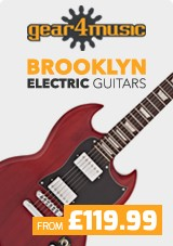 New Brooklyn Guitars by Gear4music