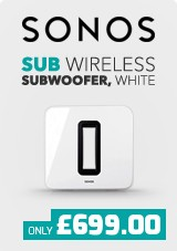 Sonos SUB Wireless Subwoofer, White