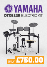 Yamaha DTX522K Electronic Drum Kit With Accessory Pack