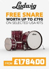 Free Ludwig snare drum worth up to £795