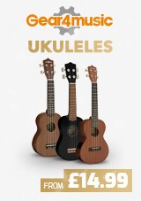 Gear4music Ukuleles